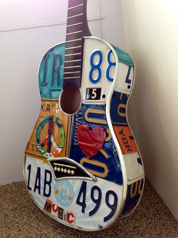 Beautiful and Creative Guitar Artworks (17)