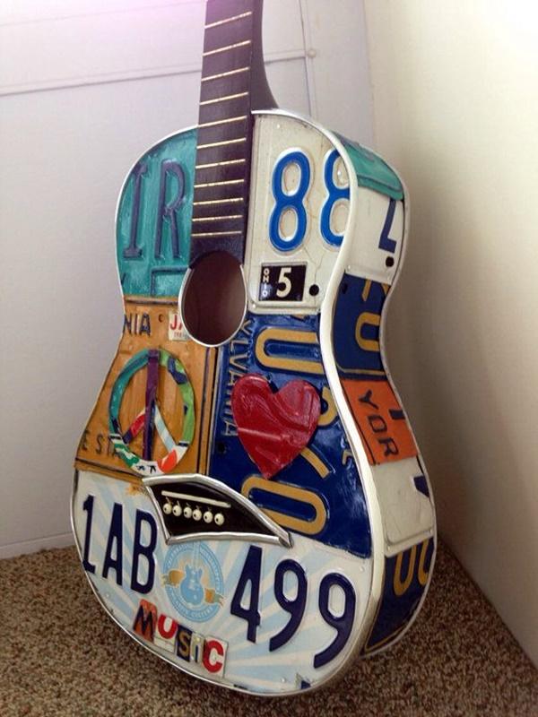 Beautiful and Creative Guitar Artworks (17)
