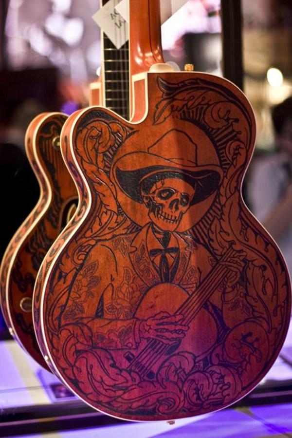 Beautiful and Creative Guitar Artworks (18)
