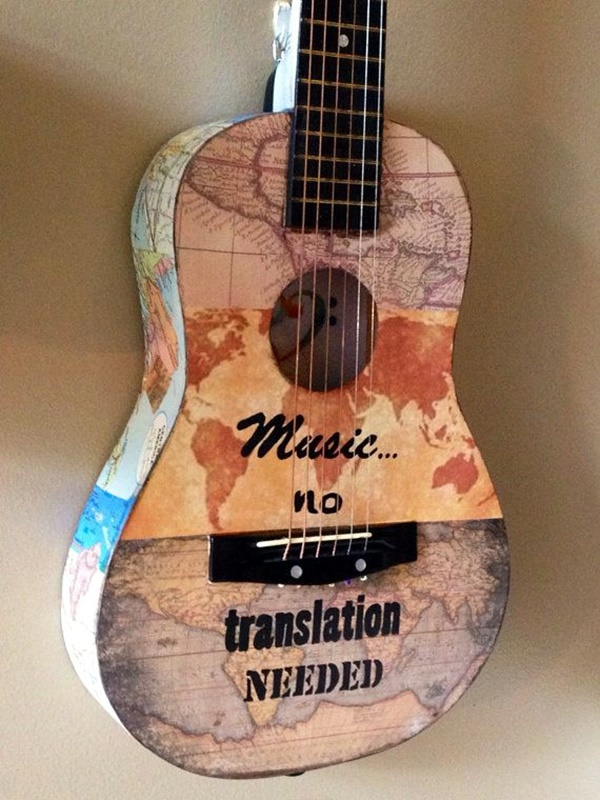 Beautiful and Creative Guitar Artworks (19)