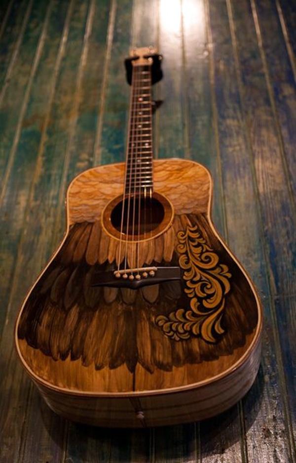 Beautiful and Creative Guitar Artworks (20)