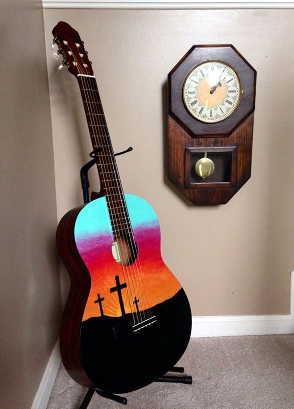 Beautiful and Creative Guitar Artworks (21)