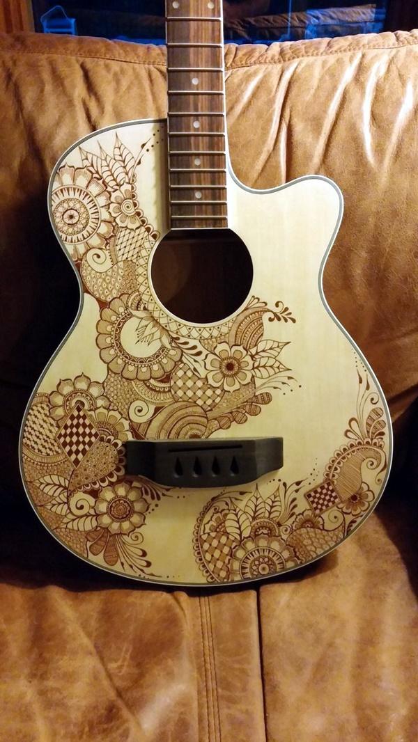 Beautiful and Creative Guitar Artworks (24)