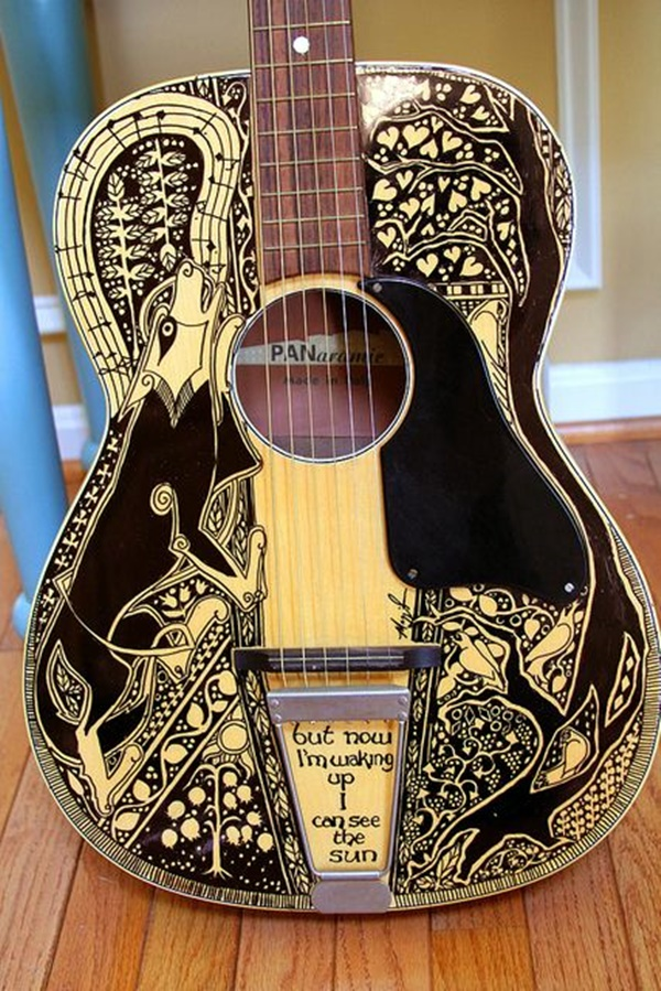 Beautiful and Creative Guitar Artworks (26)