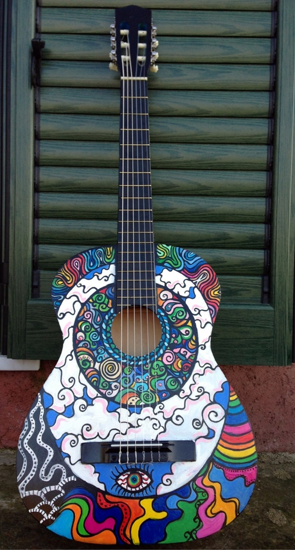 Beautiful and Creative Guitar Artworks (31)