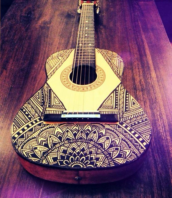 Beautiful and Creative Guitar Artworks (32)