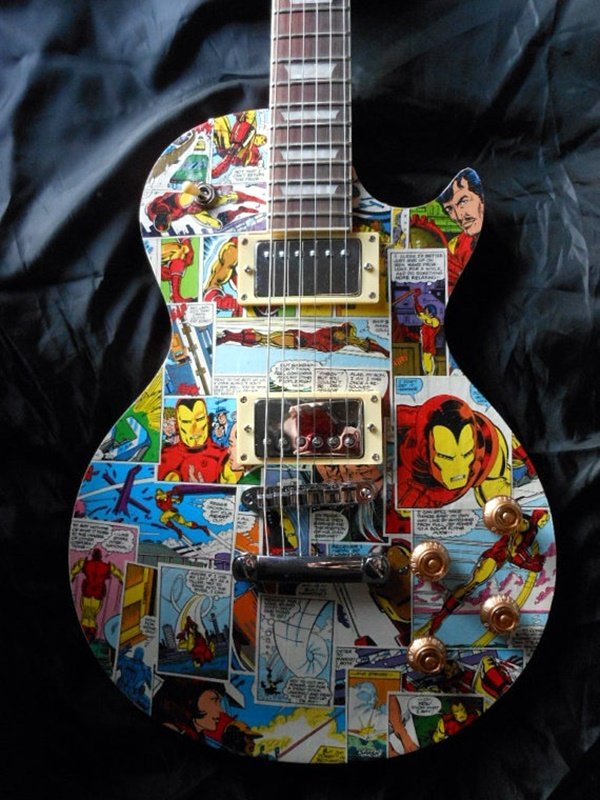 Beautiful and Creative Guitar Artworks (34)