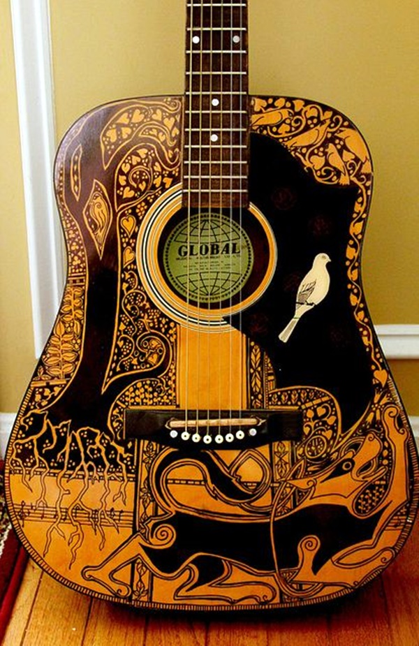 Beautiful and Creative Guitar Artworks (4)