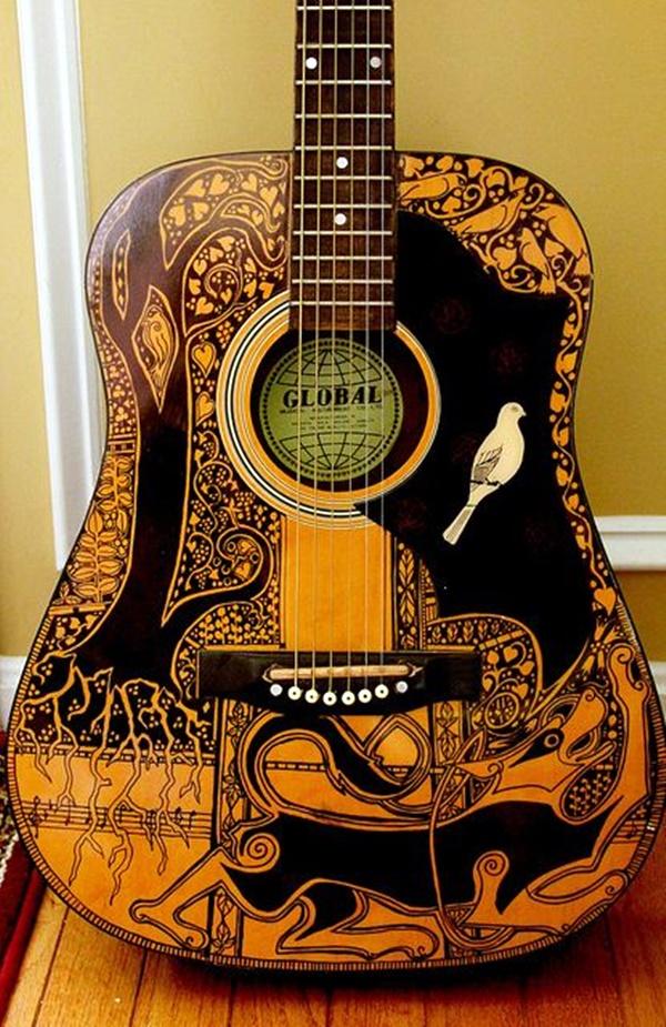 Beautiful and Creative Guitar Artworks (4)