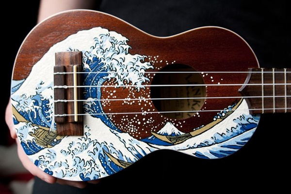 Beautiful and Creative Guitar Artworks (40)