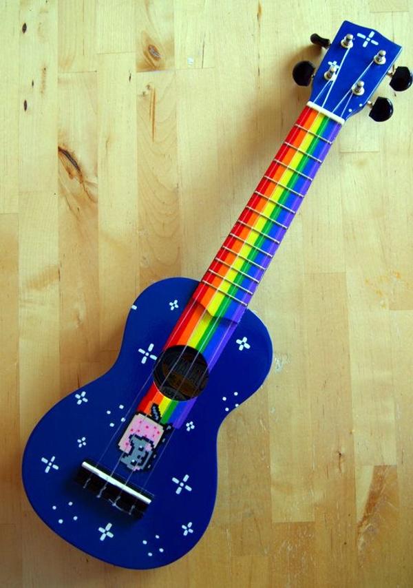 Beautiful and Creative Guitar Artworks (41)