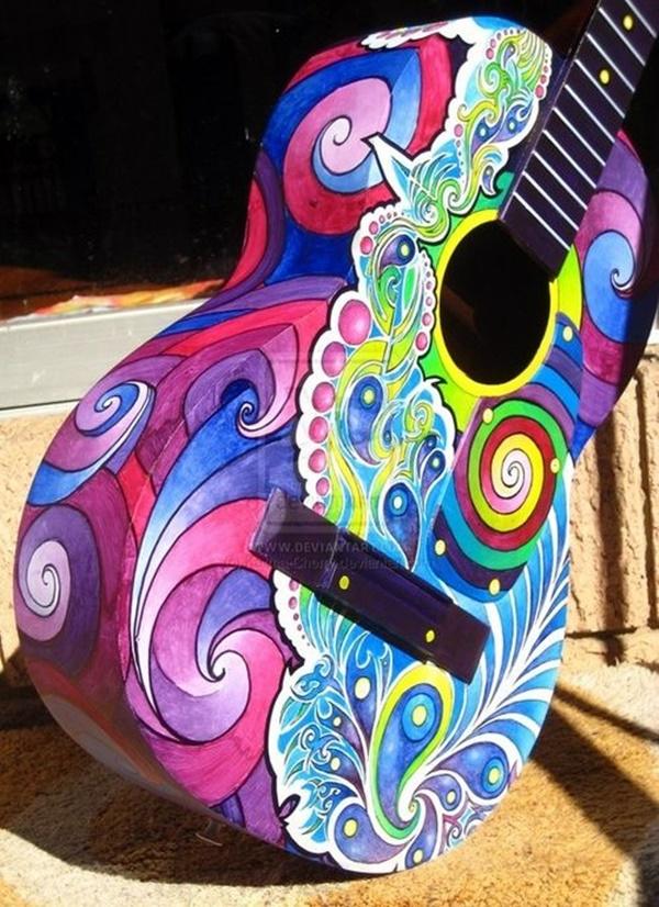 Beautiful and Creative Guitar Artworks (42)