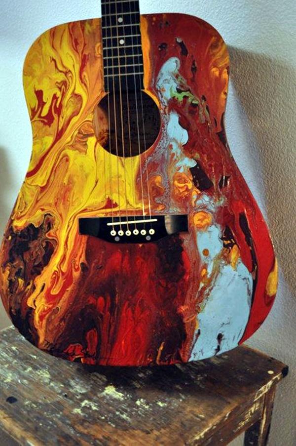 Beautiful and Creative Guitar Artworks (6)