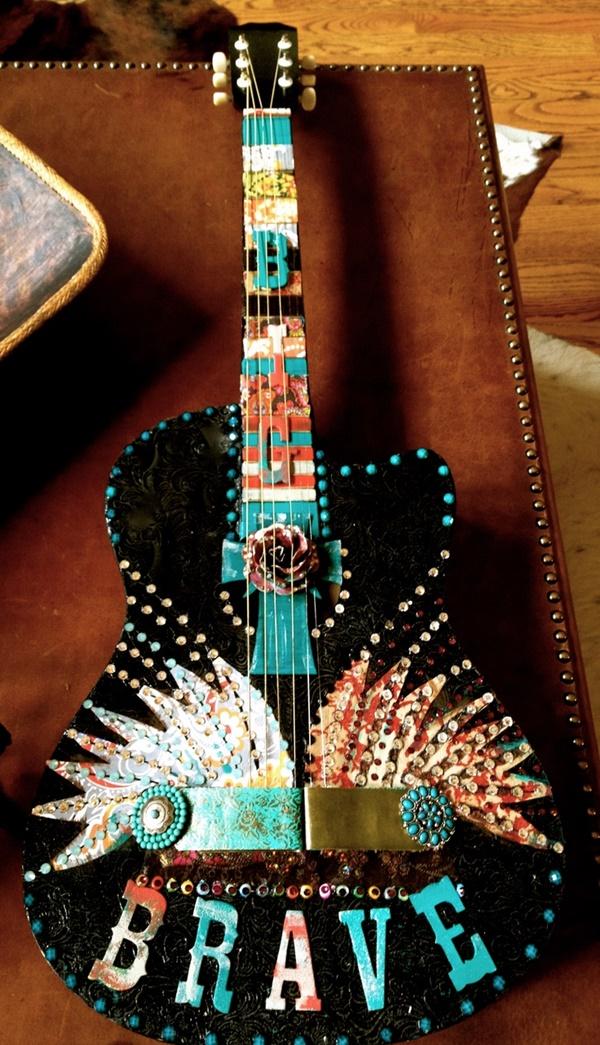 Beautiful and Creative Guitar Artworks (7)