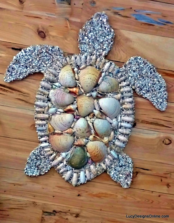 Beautiful and Magical Sea Shell Craft Ideas (10)