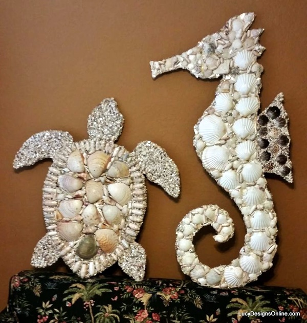Beautiful and Magical Sea Shell Craft Ideas (13)