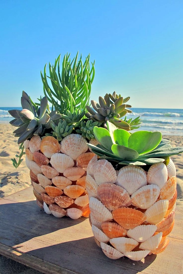 Beautiful and Magical Sea Shell Craft Ideas (16)