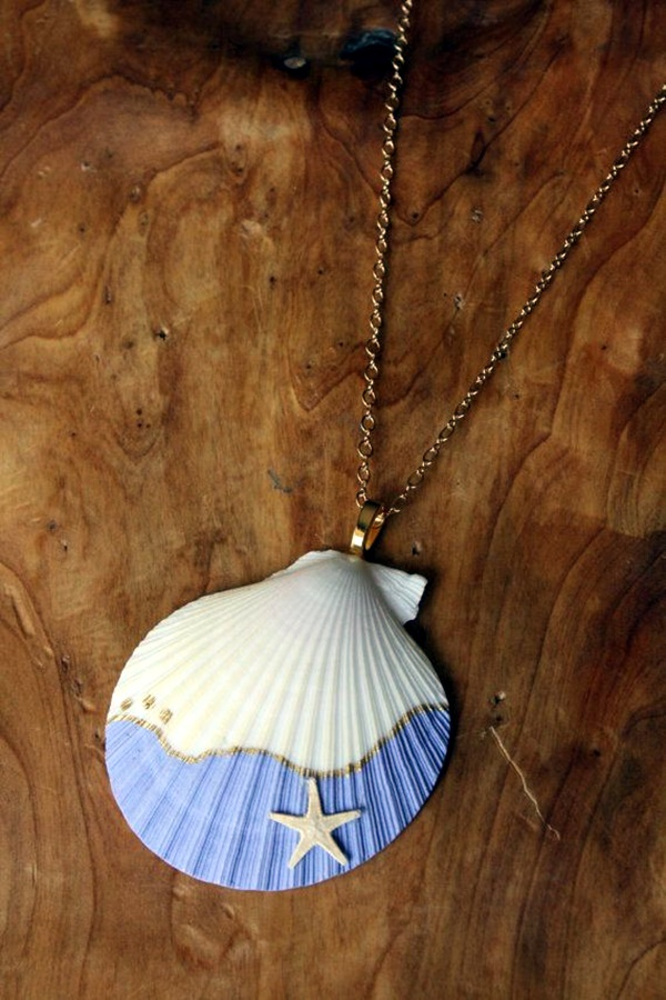 Beautiful and Magical Sea Shell Craft Ideas (2)
