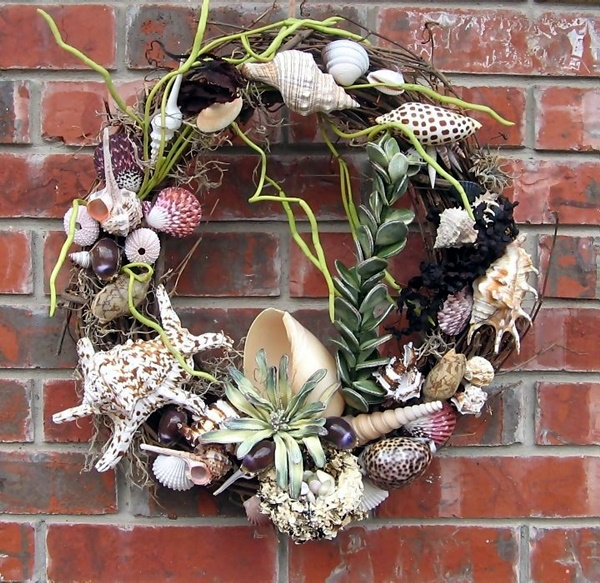 Beautiful and Magical Sea Shell Craft Ideas (24)