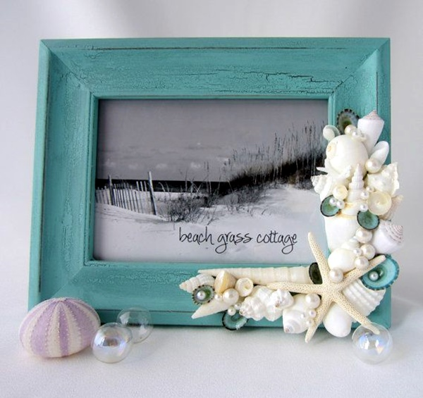 Beautiful and Magical Sea Shell Craft Ideas (25)