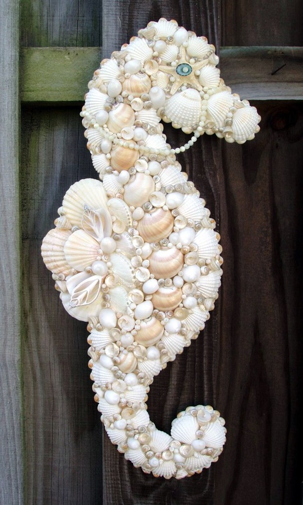 Beautiful and Magical Sea Shell Craft Ideas (3)