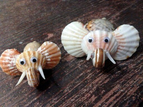 Beautiful and Magical Sea Shell Craft Ideas (30)