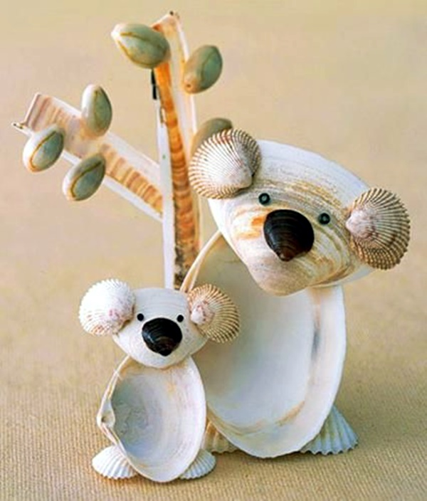 Beautiful and Magical Sea Shell Craft Ideas (34)