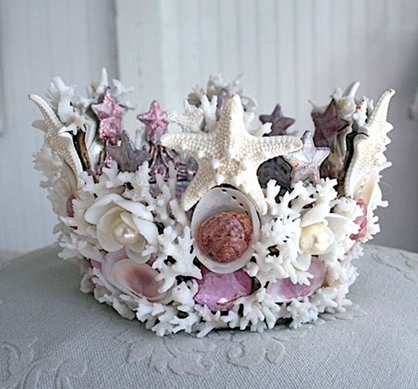 Beautiful and Magical Sea Shell Craft Ideas (36)