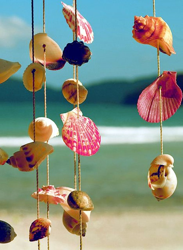 Beautiful and Magical Sea Shell Craft Ideas (37)
