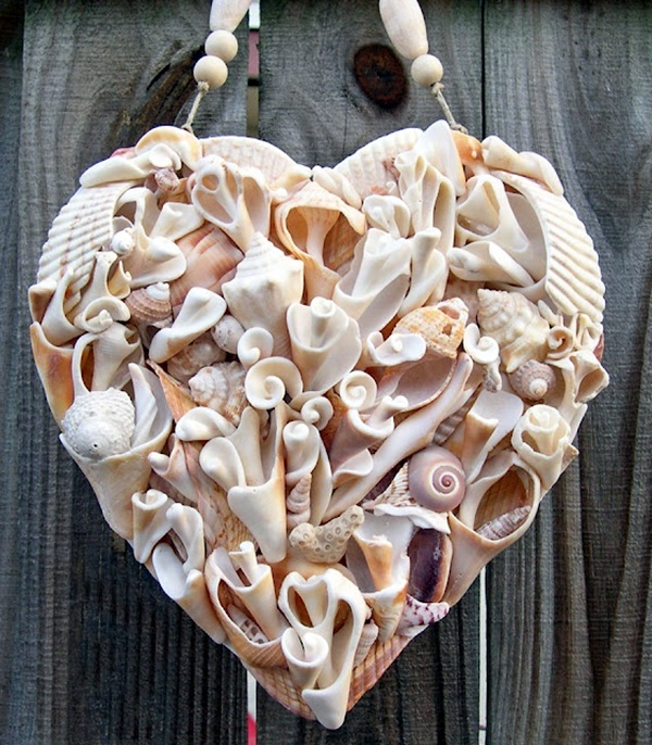 Beautiful and Magical Sea Shell Craft Ideas (41)