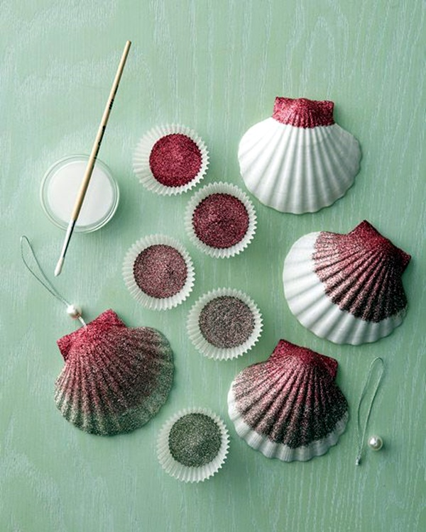 40 beautiful and magical sea shell craft ideas bored art