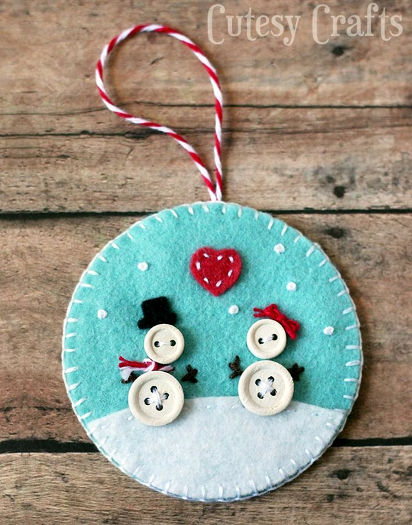 Cool Button Craft Projects for 2016 (15)