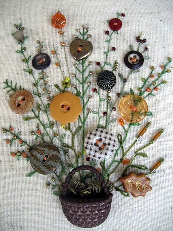 40 cool button craft projects for 2016 bored art for Craft buttons for sale