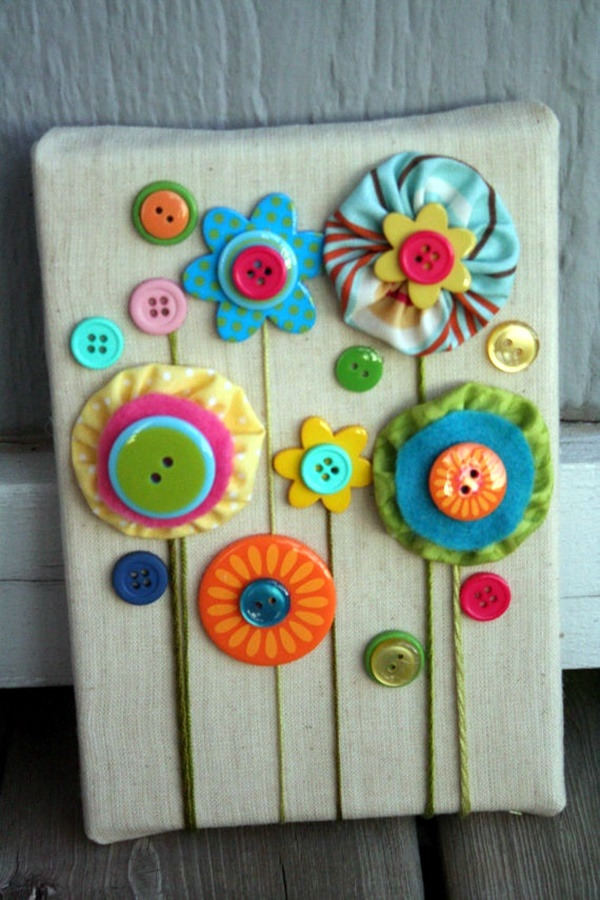 Cool Button Craft Projects For 2016 21