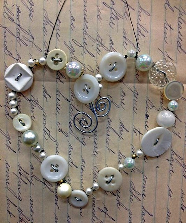 Cool Crafts To Do With Buttons