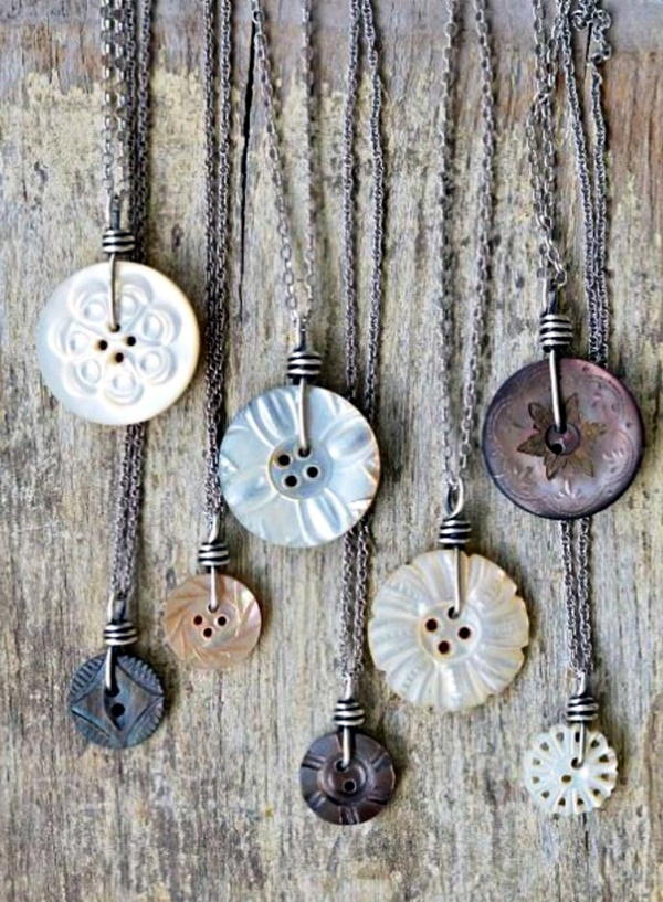 Cool button craft projects for 2016 27