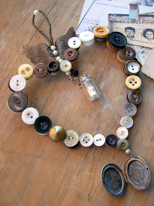 Cool Button Craft Projects for 2016 (32)