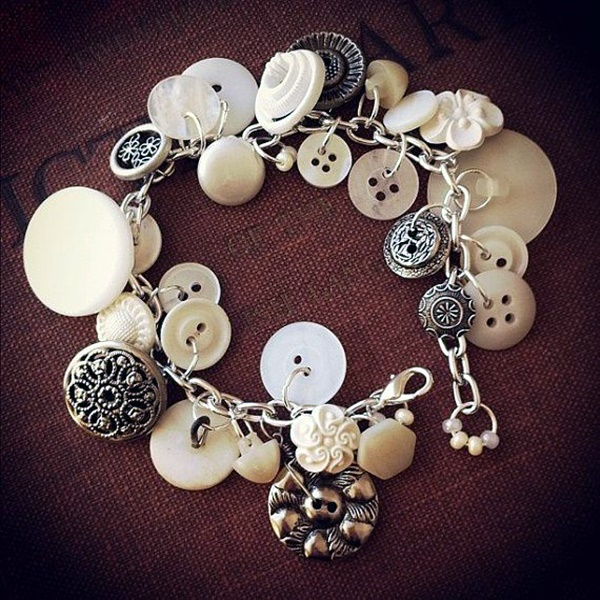 Cool button craft projects for 2016 33