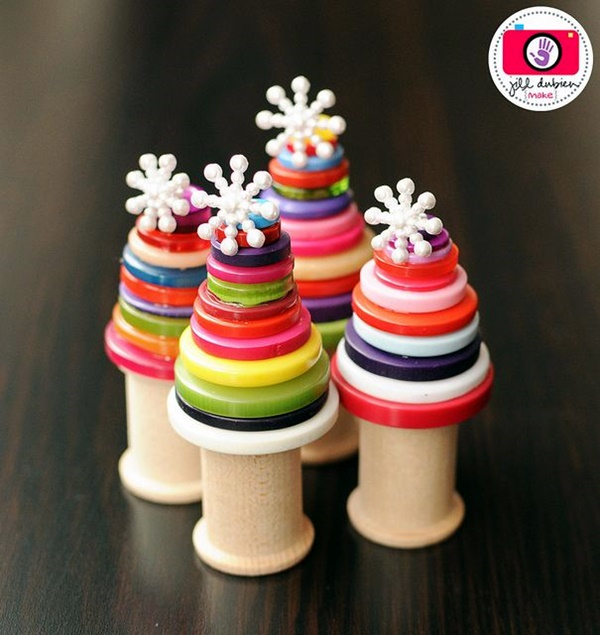 Cool Button Craft Projects for 2016 (34)