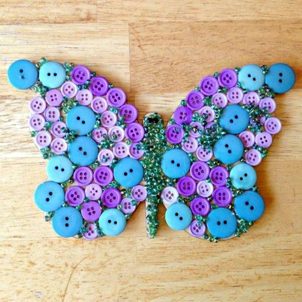 Button Craft Ideas Christmas