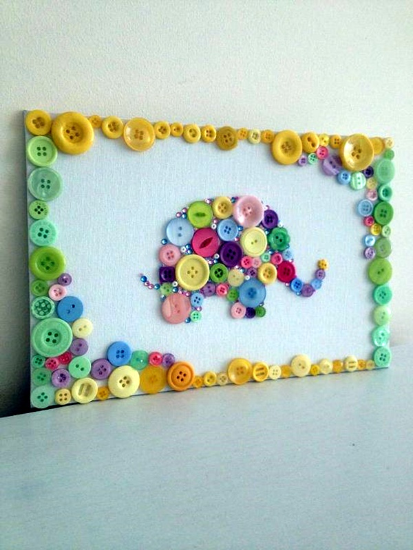 40 cool button craft projects for 2016 bored art for Cool things to craft