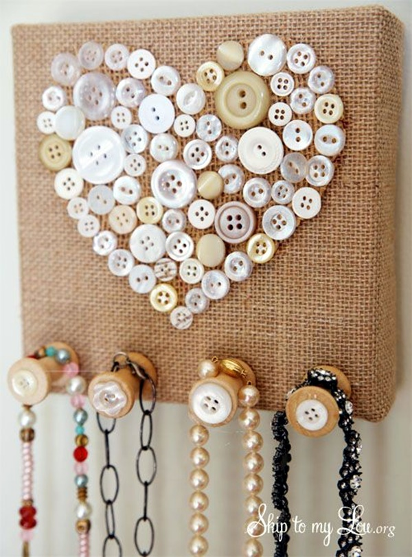 Cool Button Craft Projects for 2016 (7)