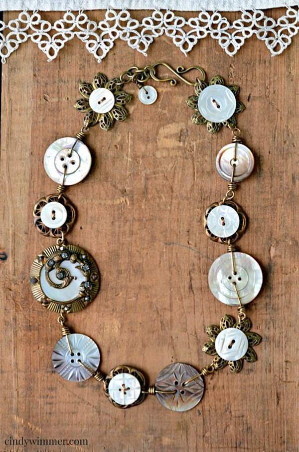 Cool button craft projects for 2016 9