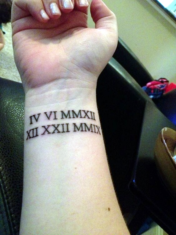 40 Cool And Classic Roman Numerals Tattoo To Get This Year Bored Art