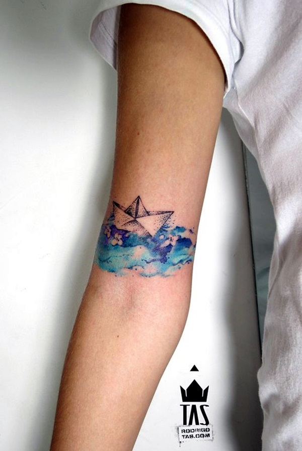 Cute and Meaningful Boat Tattoo Designs (12)