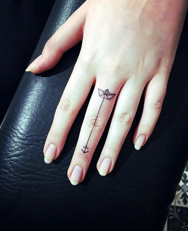 Cute and Meaningful Boat Tattoo Designs (19)
