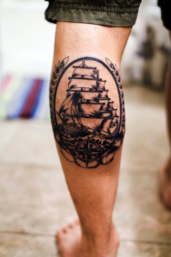 Cute and Meaningful Boat Tattoo Designs (26)