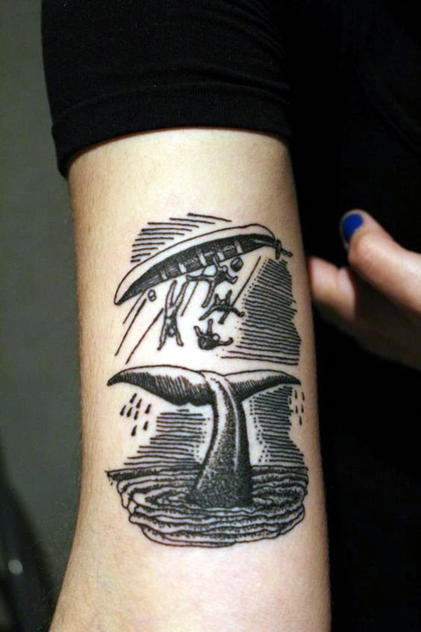 Cute and Meaningful Boat Tattoo Designs (41)
