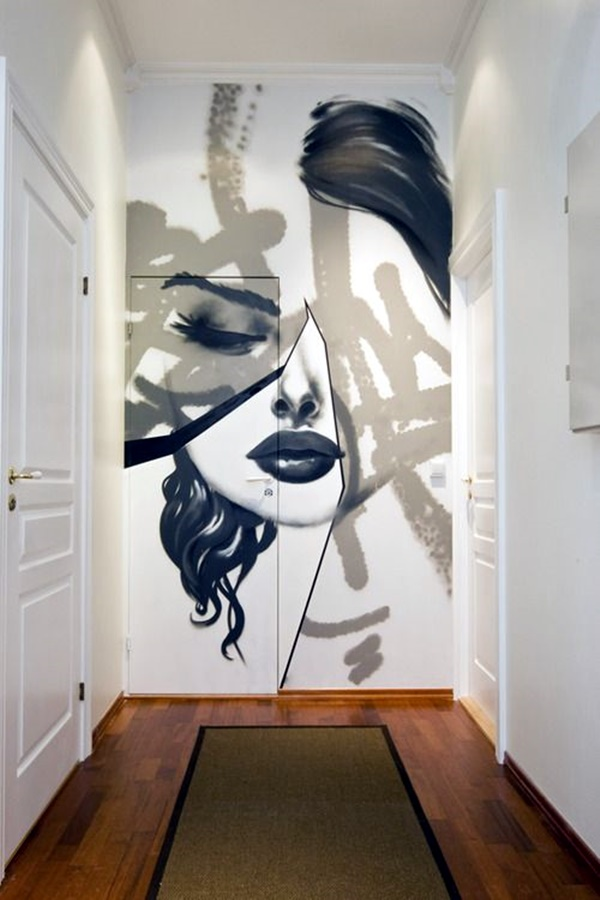 Elegant Wall Painting Ideas For Your Beloved Home (10)