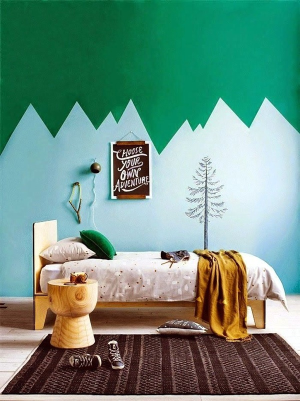 Elegant Wall Painting Ideas For Your Beloved Home (26)